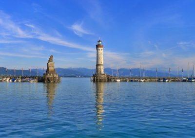 Bodensee mit Bregenzer Festpiele